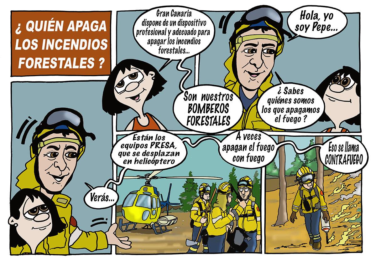 Medio ambiente. Incendios